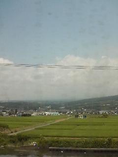 富士山まったく見えません