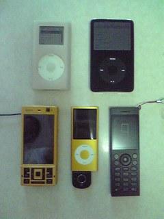 iPod nano 16GB、結構お気に入りです