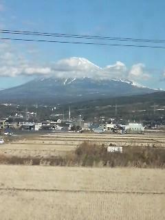 もっと雪が多いかと思った<富士山