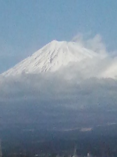 富士山ズームアップ