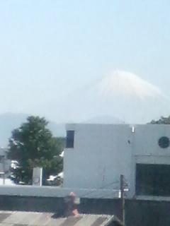 2ヶ月ぶりの富士山