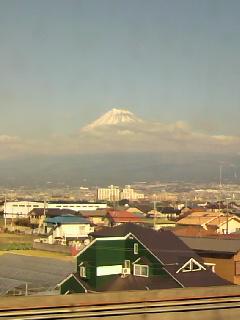 今年最後の富士山、綺麗に見えました(^^)/