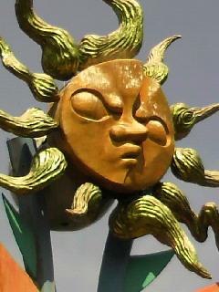 若い太陽の塔を見てきました